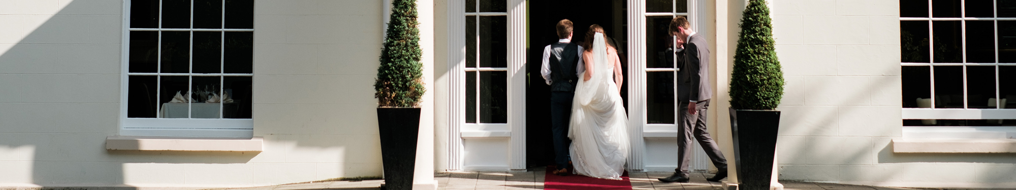 A fabulous wedding day at Malone House